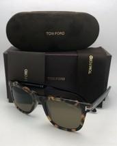 Tom Ford Occhiali da Sole Leo Tf 9336 55j 52-21 Tartaruga Havana & Nero ... - $199.60