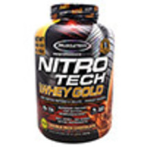 Muscletech Performance Series Nitro Tech 100% Whey Gold Double Rich Choc... - $87.72