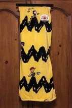 NEW Peanuts Charlie Brown Berkshire VelvetSoft Fleece Throw Blanket Yellow - $44.05 CAD