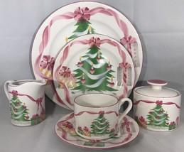 "Sango ""Home for Christmas"" 11 Piece Dinnerware Holiday Set  4892 (Oven Safe) - $74.24"