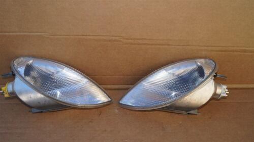 97-04 Mercedes SLK230 SLK320 R170 Parking Corner Light Lamps Set Pair L&R