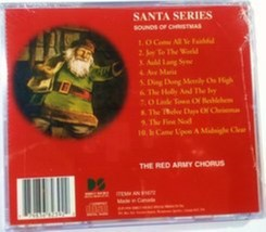 Santa Series - Sounds Of Christmas by The Red Army Chorus Cd image 2