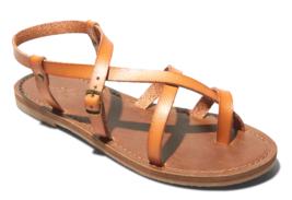 Universal Thread Women's Faux Leather Lavinia Toe Wrap Thong Sandal Vegan NWT