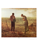 The Angelus by Millet Poster 26 x 22 inch Andy Griffith Show Dali Van Go... - $34.99
