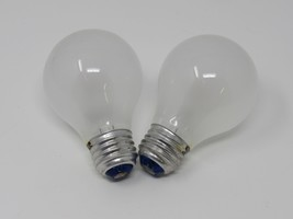 Westinghouse 25W Incandescent Rough Service Bulb A19 Frosted 25WA19 Vintage - $8.98