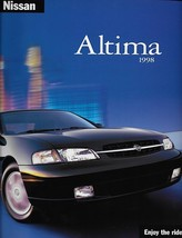 1998 Nissan ALTIMA sales brochure catalog US 98 GXE GLE SE - $6.00