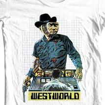 Westworld t-shirt vintage 1970s movie western sci fi film Futureworld tee shirt image 1