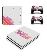 Need For Speed ps4 pro edition skin decal for console and co - €12,73 EUR