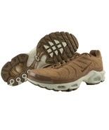 Nike Air Max Plus TN Size 11.5 Mens Quilted Ale Brown Sail Running Shoes... - $159.95