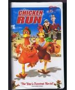 Chicken Run VINTAGE VHS Clamshell Mel Gibson Miranda Richardson - $14.84