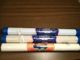 Lot of 3 NIP Charles Craft Assorted Cross Stitch Aida Cloth - White Natural Blue - $18.76