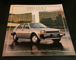 Vintgae 1983 Dodge Colt Catalog Sales Brochure 14 pages - $10.62