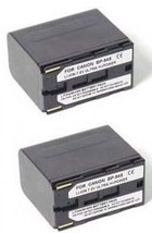 TWO 2 Batteries for Canon Canon BP-945 BP-950 BP-970 BP-955 BP-955G BP-975 - $71.95