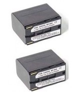 TWO 2 Batteries for Canon Canon BP-945 BP-950 BP-970 BP-955 BP-955G BP-975 - $71.95