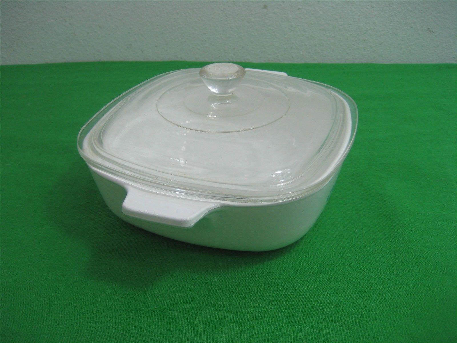 BLUE CORNFLOWER 1 Quart Casserole Dish P-1-B Corning Ware