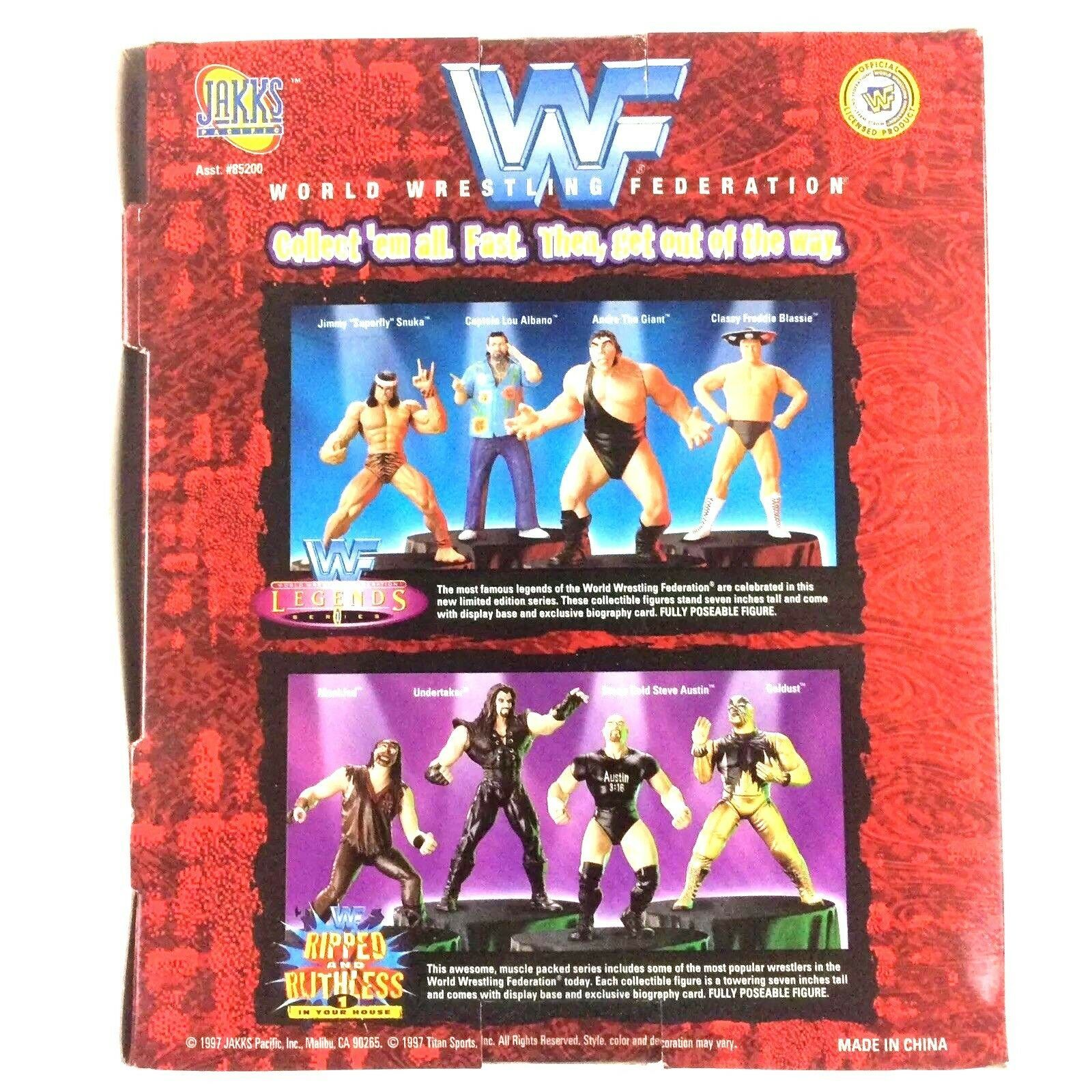 Stone Cold Steve Austin WWF WWE Jakks Figure Ripped and Ruthless Series 1 1997