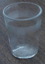Nice Little Pressed Glass Etched Shot Glass, One Ounce, VERY GOOD COND - €5,88 EUR