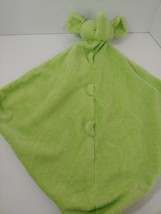 Angel Dear plush green elephant Baby Security Blanket Lovey nubs knotted... - $29.69