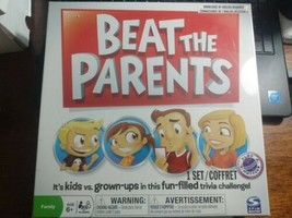 Beat The Parents Board Game Trivia Challenge Kids Adults Family Fun - Brand New - $10.99