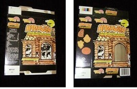 Sun Valley Halloween Buttery Flavored Cookie Snacks Box Ghost Hologram 1991 - $14.99