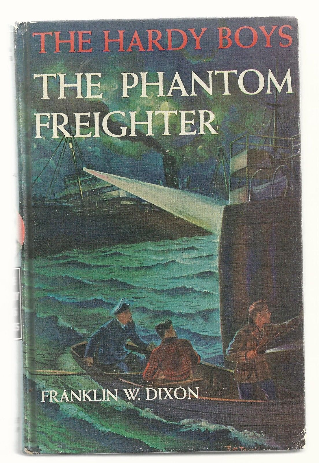 Primary image for Hardy Boys THE PHANTOM FREIGHTER 1st picture cover Ex++  1947