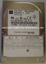 """1.3GB 2.5"""" 19MM IDE Drive Toshiba MK1302MAN HDD2632 Tested Good Our Drives Work"""