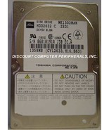 """1.3GB 2.5"""" 19MM IDE Drive Toshiba MK1302MAN HDD2632 Tested Good Our Driv... - $11.71"""
