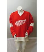Vintage Detroit Red Wings Jersey - Wool Pro Model by CCM - Size 48 - $225.00