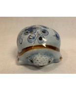 Mexico Pottery Signed Stoneware Turtle Figurine Painted Folk Art Floral ... - $44.29 CAD