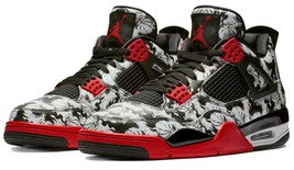 Nike Jordan 4 Retro Tattoo Singles Day Men's Shoes BQ0897-006 $225 - $144.99