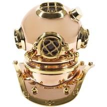"""12"""" Solid Brass Diving Helmet Replica - $296.01"""
