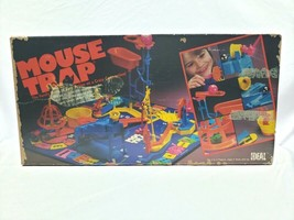Vintage 1984 Ideal/CBS Toys Mouse Trap Board Game  - $34.60