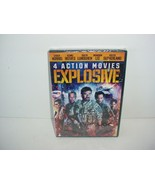Explosive: 4 Action Movies (DVD, 2014) - $5.84