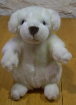"Melissa & Doug Cute White Puppy Dog 8"" Stuffed Animal - $15.35"