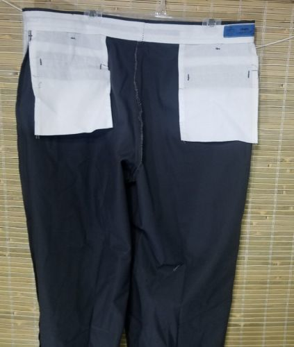CINTAS COMFORT FLEX MEN'S TALL UNIFORM WORK PANTS POLYESTER GRAY 40 X 35 RN51374