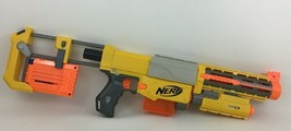 Nerf Recon CS6 Gun N Strike with Stock 2 Clips Extended Barrel Red Dot Darts - $33.81