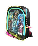 NWT Monster High 3D Backpack School Bag Cleo/Ghoulia/Draculaura/Lagoona/... - $34.99