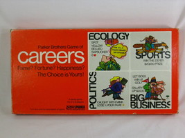 Careers 1971 Board Game Parker Brothers 100% Complete Excellent Plus Condition ^ - $18.55