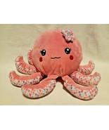 Hug Fun Pink OctopusPink Plush Stuffed Animal Sea Creature Flower Bow - $22.65
