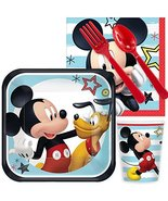 BirthdayExpress Mickey Mouse On The Go Party Supplies Snack Pack for 16 - $21.73