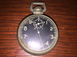 Elgin 1940's US ARMY Military WWII A-8 Watch /Timer Jitterbug Movement - $385.17