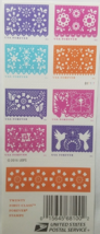 New! 'Colorful Celebrations' 1st Class (USPS) FOREVER STAMPS 20 - $13.95