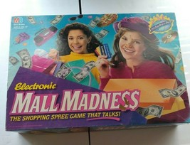 Vintage Electronic Mall Madness Board Game 90% Complete Works - $118.80