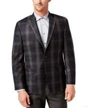 Michael Kors Men's Classic-Fit Green Plaid Sport Coat (Dark Green, 40) - $144.53