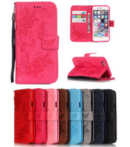 """PU Leather Embossing Butterfly Magnetic Stand Case Cover for iPhone 7 Plus 5.5"""" - $3.93"""