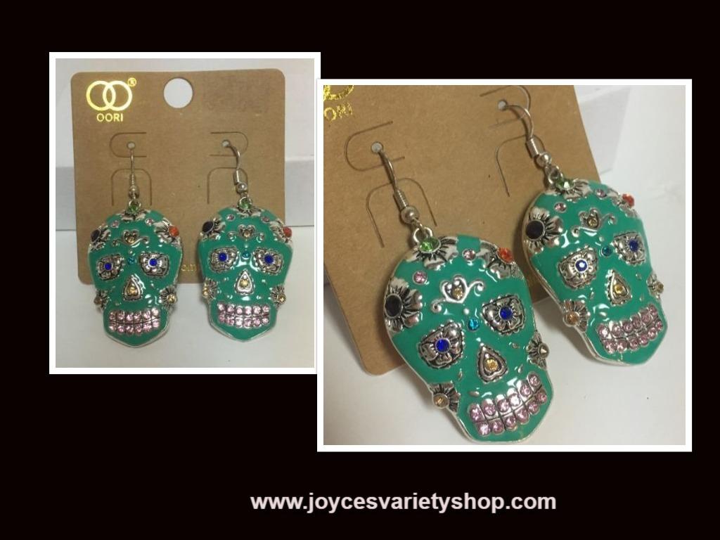 Dod earrings web collage