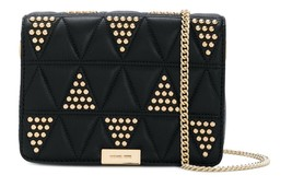 MICHAEL KORS MICHAEL Michael Kors Jade Studded Quilted 30H7GJ4C8I with F... - $239.00