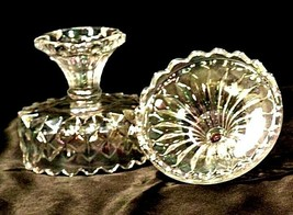 Vintage Heavy Etched square Glass Candy Dish with detailed designs AA19-LD11922 image 2