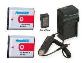 Two Batteries + Charger For Sony DSC-HX7VL.CEE8 DSC-HX7VR DSC-HX7VW DSC-HX9V - $48.56