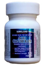 Acid Controller Kirkland Famotidine 20mg 125 tablets Generic Pepcid AC - $11.81